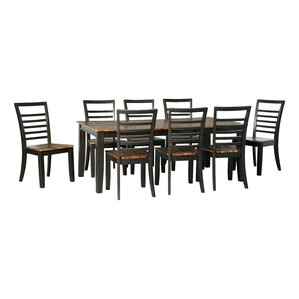 Anesicia 9 Piece Dining Set by Gracie Oaks