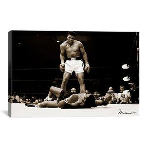 'Muhammad Ali Vs. Sonny Liston, 1965' Photographic Print