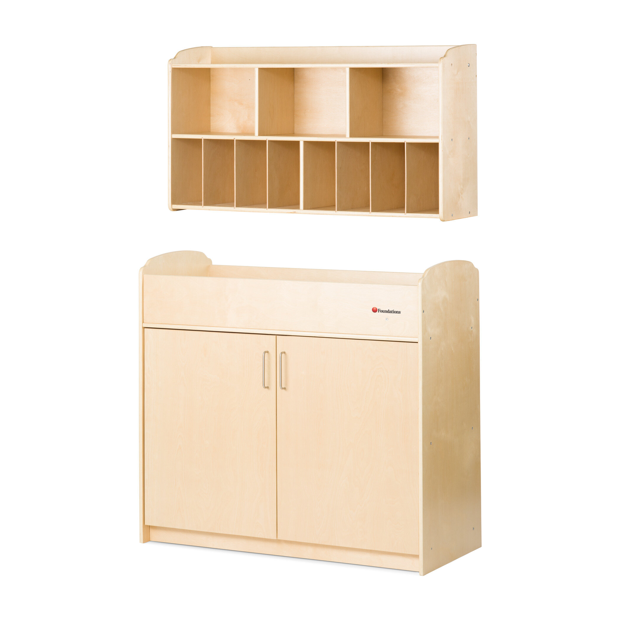 Foundations Next Generation 2 Piece Changing Table Set | Wayfair