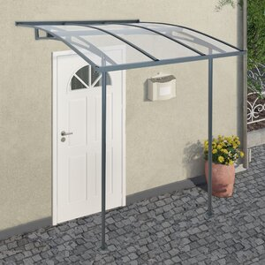 Vega 2000 2m W X 19m D Door Canopy
