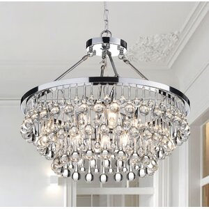 Loke 9-Light Crystal Chandelier