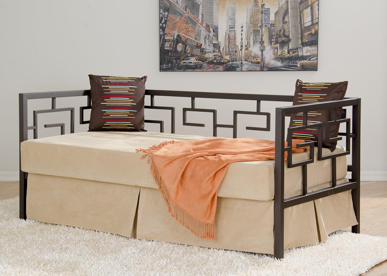 in style furnishings greek key daybed wayfair