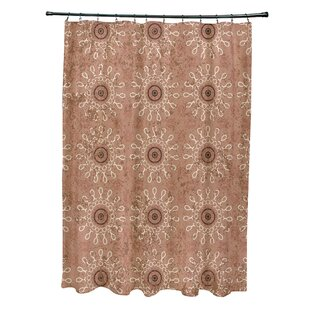Moorish Tile Taupe Curtain