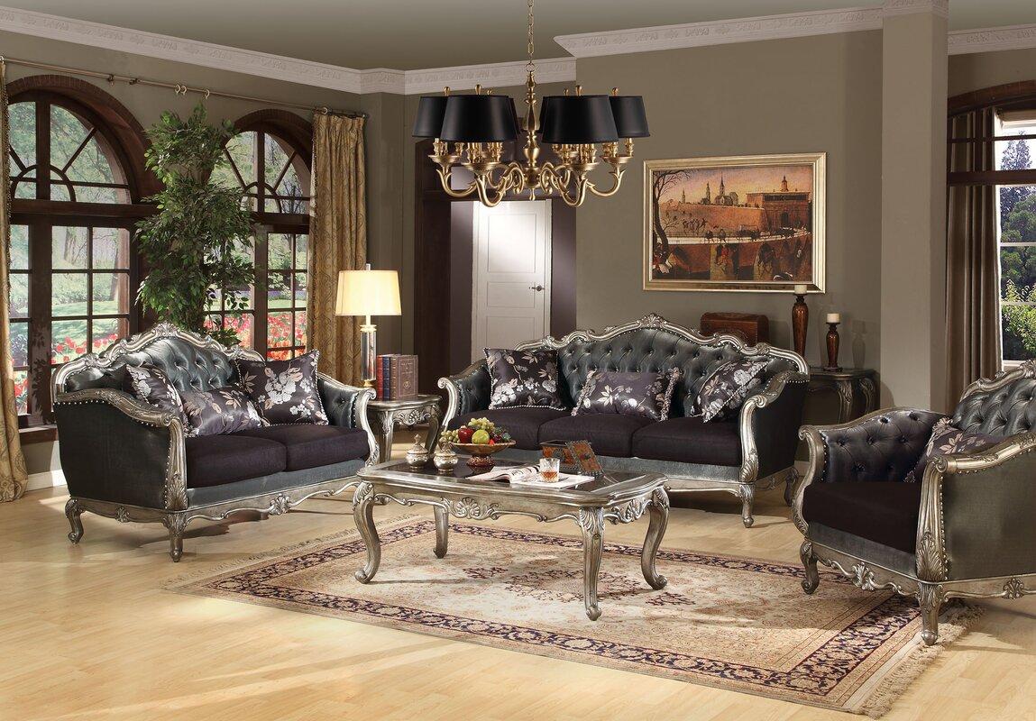A J Homes Studio Chantelle Configurable Living Room Set Reviews