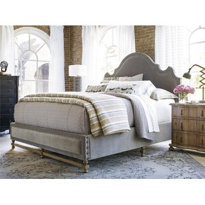 Darwin Upholstered Panel Bed by Gracie Oaks