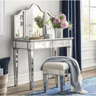 Bedroom Vanity With Stool Wayfair