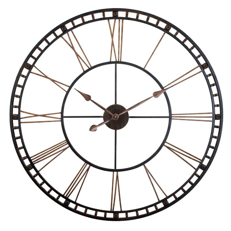 Trent Austin Design Oversized Methuen 39 Wall Clock Reviews