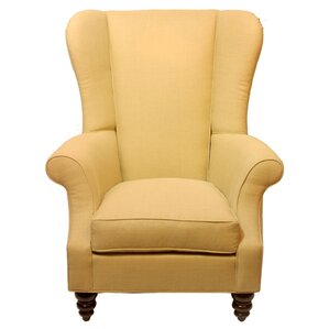Bartlett Linen Wing back Chair by Darby Home..