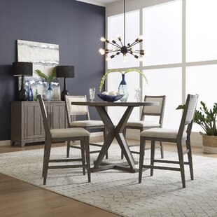 Crescent Creek 5 Piece Pub Table Set