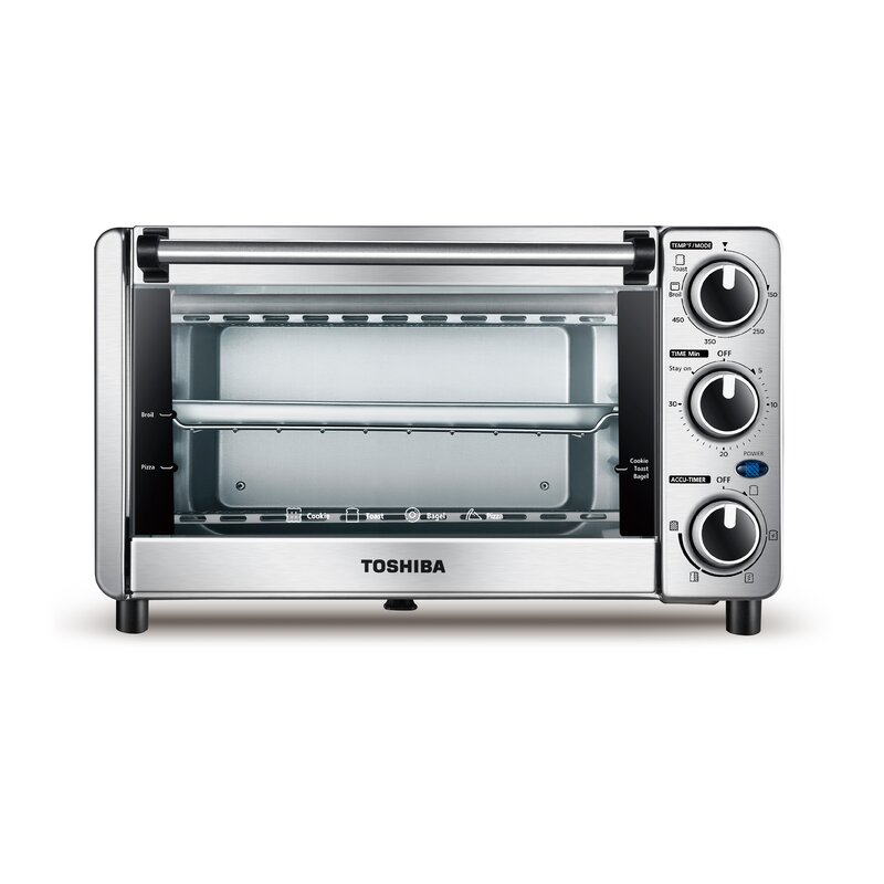 0.4 Cu. Ft. 4 Slice Toaster Oven