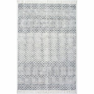 Oldtown Hand-Woven Gray Area Rug