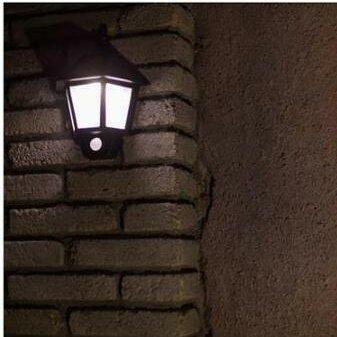 Charlton Home Prospect Solar Ed Motion Sensor Led 1 Light Outdoor Wall Lantern Reviews Wayfair