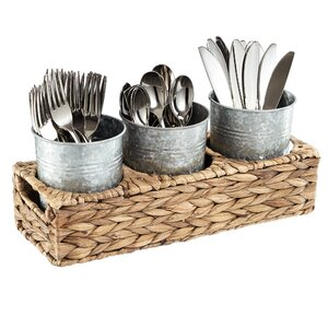 Pollina Flatware Caddy