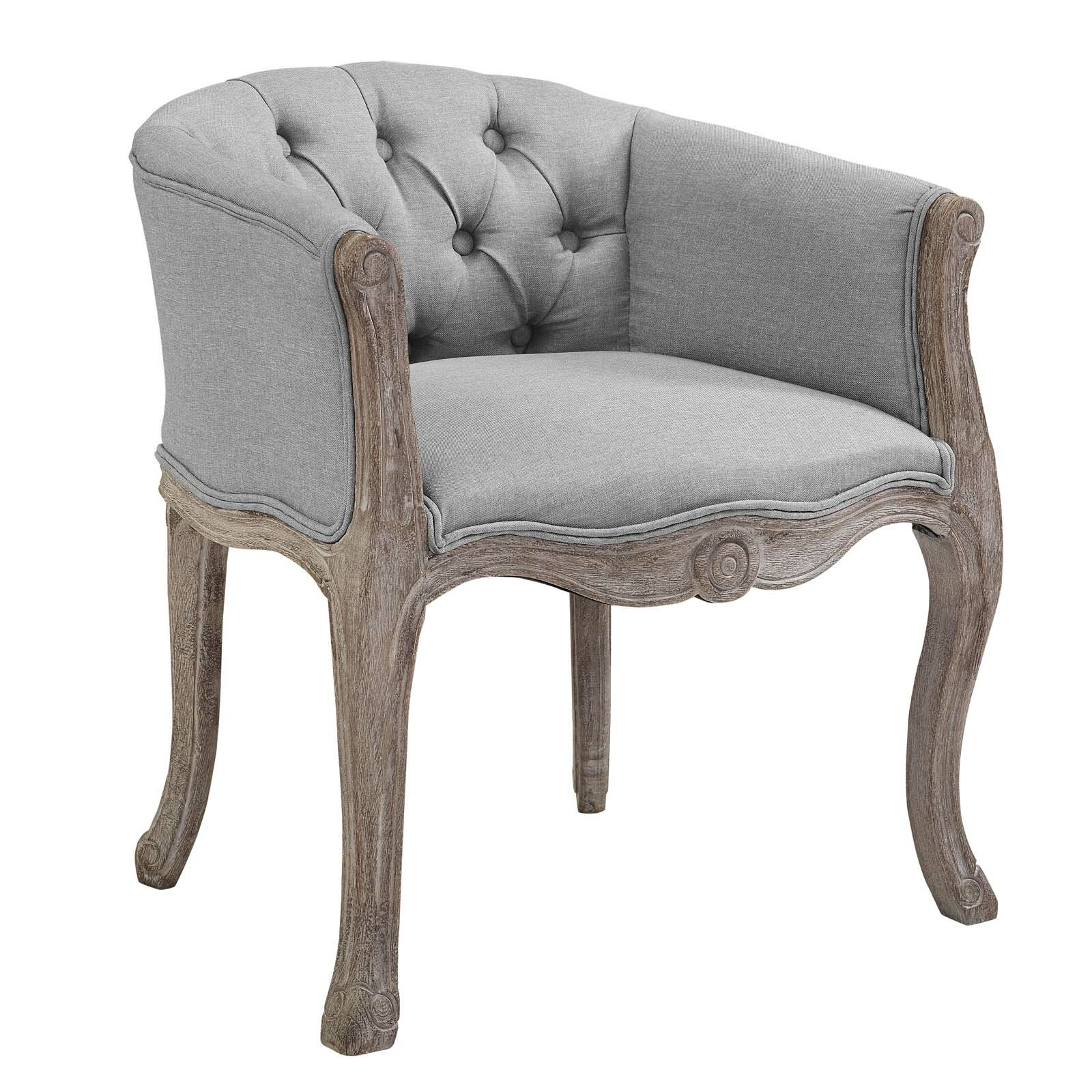 Vasques Vintage French Upholstered Dining Chair Wayfair