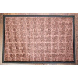 Doortex Brown Ribbed Heavy Duty Indoor/Outdoor Entrance Doormat