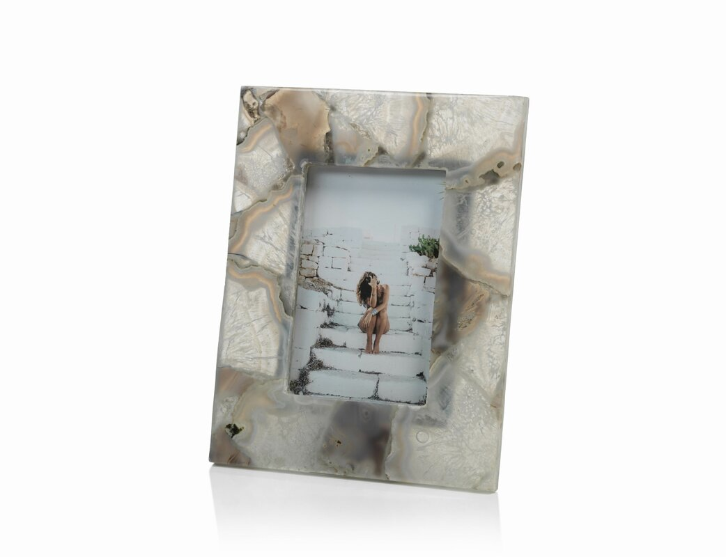 Rosecliff Heights Agate Picture Frame & Reviews | Wayfair