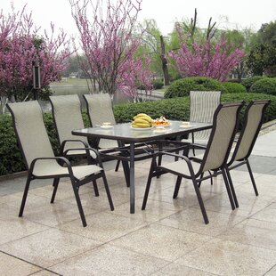 patio sets with umbrella hole wayfair