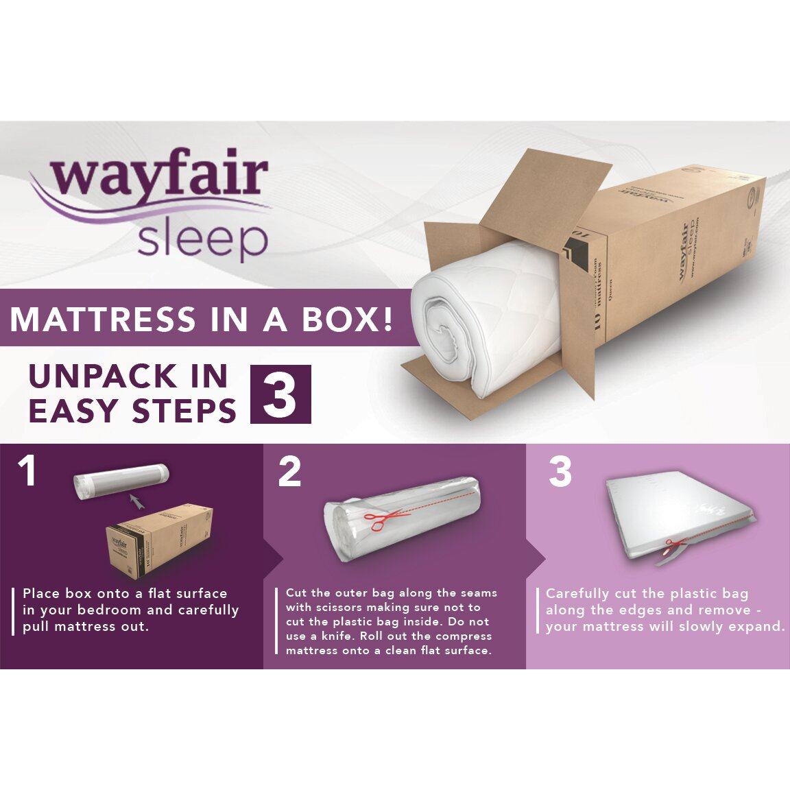 Wayfair Sleep Wayfair Sleep 12 Quot Memory Foam Mattress