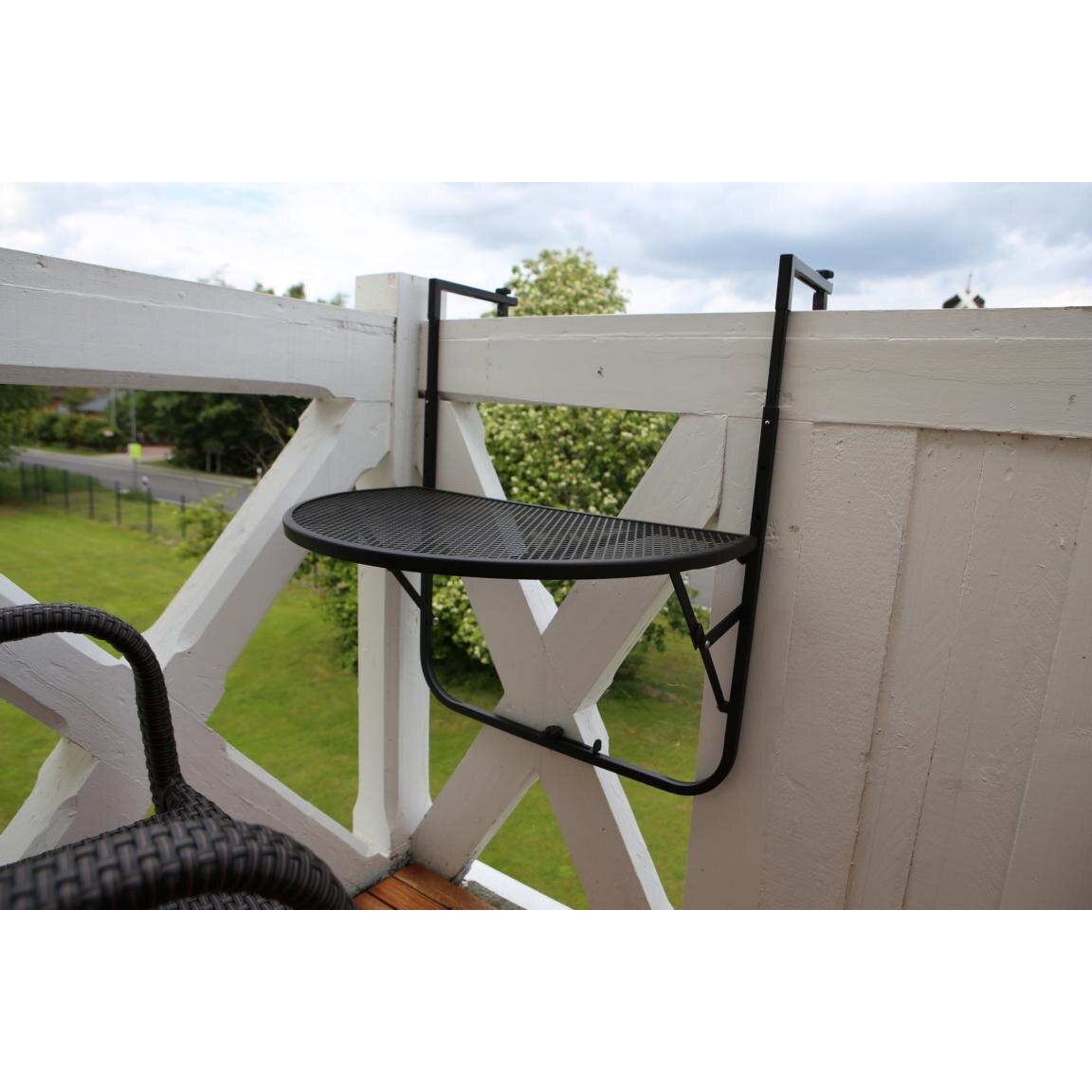 destiny klappbarer balkontisch padua bewertungen. Black Bedroom Furniture Sets. Home Design Ideas
