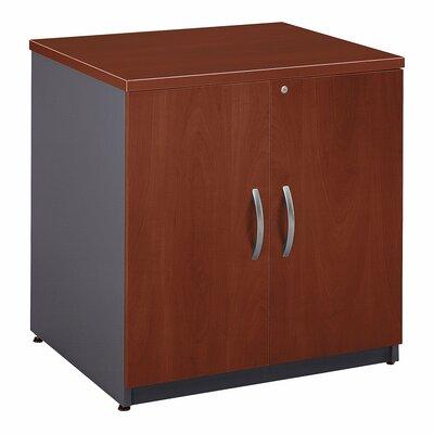 Series C 2 Door Storage Cabinet Bush Business Furniture Finish: Hansen Cherry