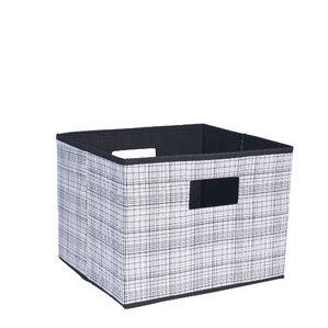 Deluxe Open Storage Bin With Cutout Handles