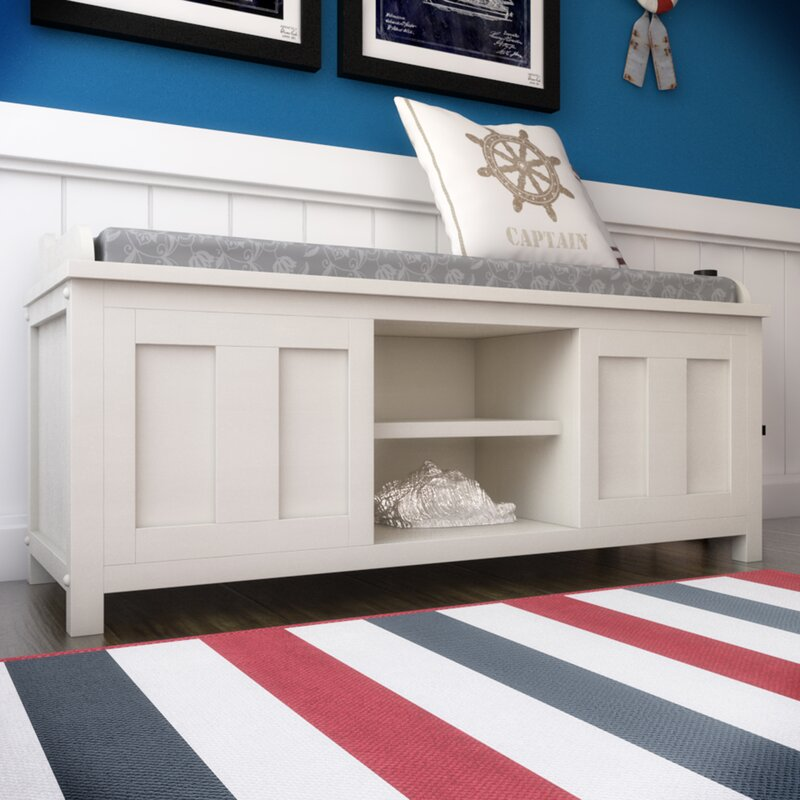 Remodel Your Rooms By Put Corner Storage Bench Beachcrest Home Gainsborough Wood Storage Bench u0026 Reviews | Wayfair