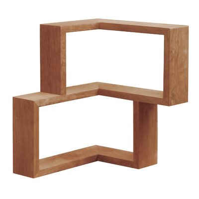 Tronk Design Franklin Wall Shelf Finish: Cherry