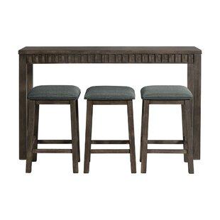 Panola 4 Piece Pub Table Set