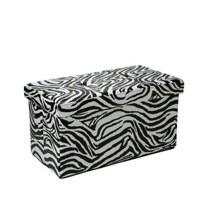 Makhi Double Folding Storage Ottoman by World Menagerie