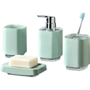 Infinity 4 Piece Bathroom Accessory Set