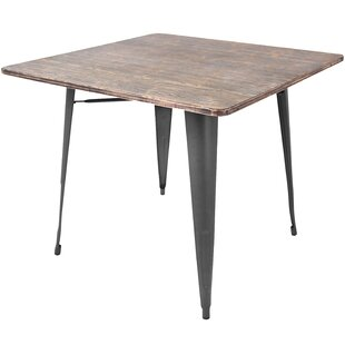 Bamboo Kitchen Table Bamboo kitchen dining tables youll love wayfair alberton dining table workwithnaturefo