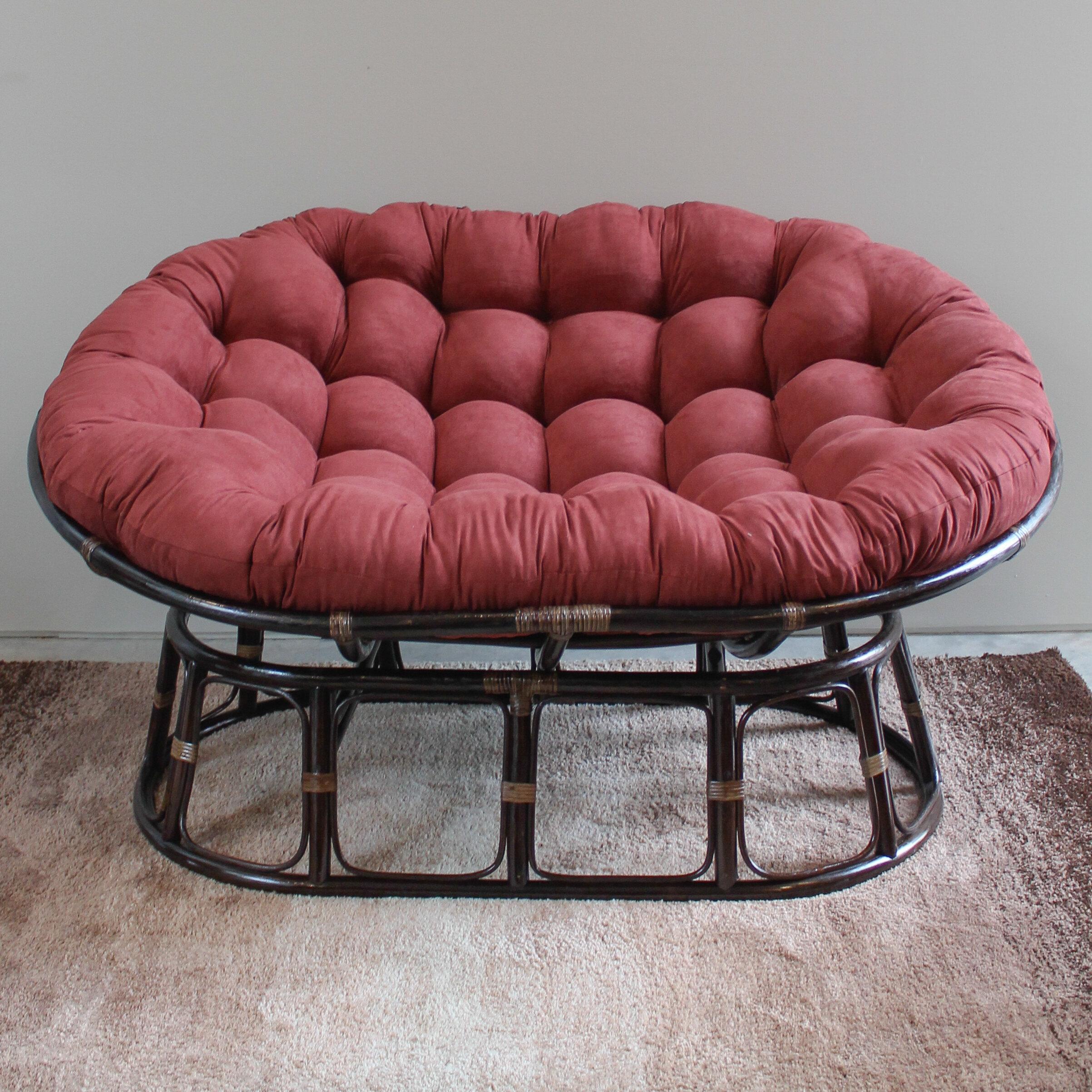 Bay Isle Home Papasan Premium Lounge Chair Cushion U0026 Reviews | Wayfair