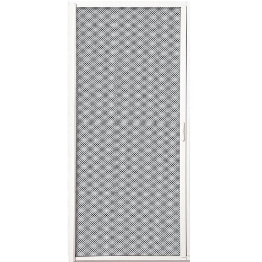 Verona Home Design Retractable Aluminum Screen Door Wayfair