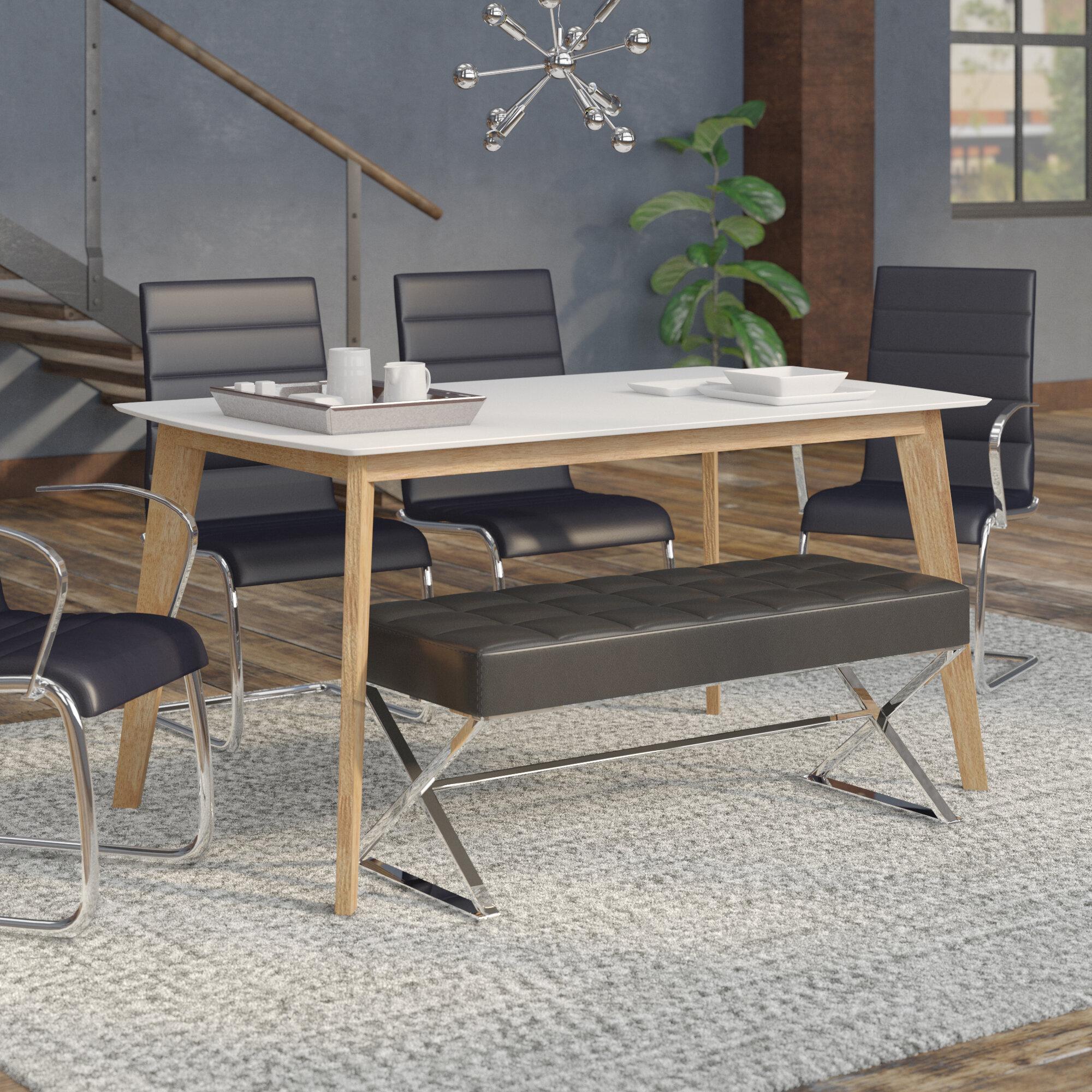Mercury Row Hummer Retro Modern Dining Table Reviews Wayfair