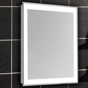 White Vanity Mirror With Lights. Edge Electric Bathroom Vanity Mirror Mirrors with Lights You ll Love  Wayfair