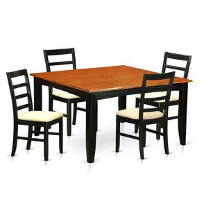 Parfait 5 Piece Dining Set