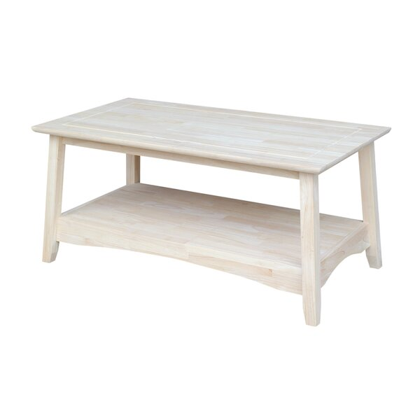 International Concepts Unfinished Wood Bombay Tall Coffee Table U0026 Reviews |  Wayfair