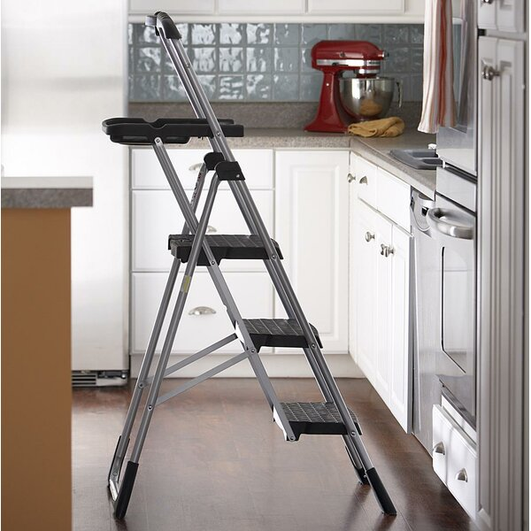 Cosco Home And Office 4 Ft Steel Work Step Ladder With 225
