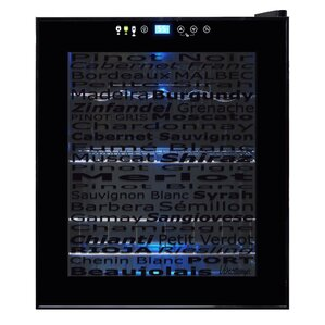15 Bottle Single Zone Freestanding Wine Cooler by Vinotemp