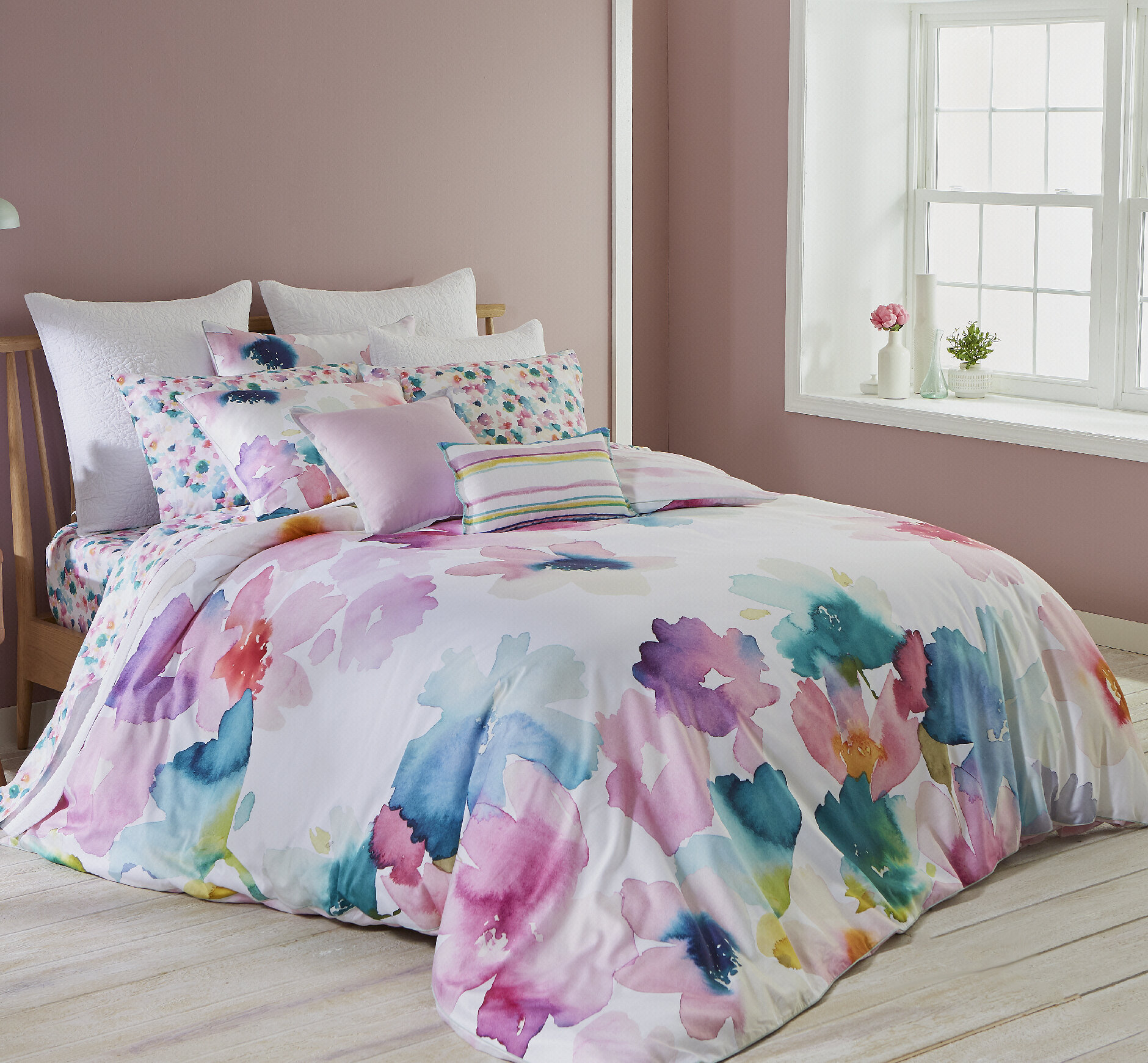 Superbe Bluebellgray Sanna 100% Cotton Bedding Set U0026 Reviews | Wayfair