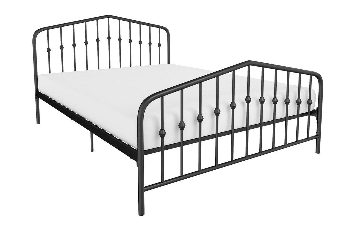 Novogratz Bushwick Platform Bed & Reviews | Wayfair