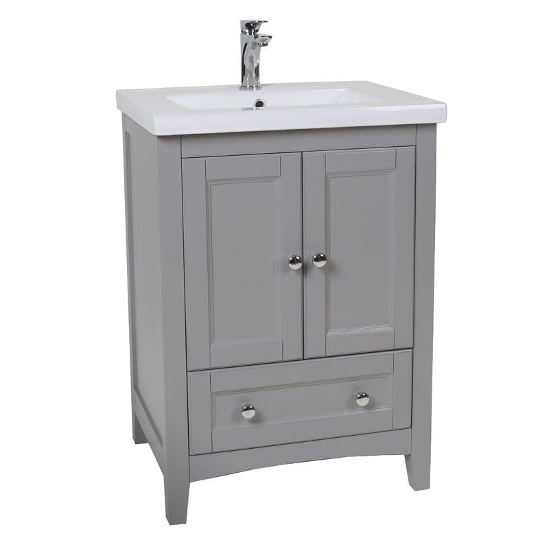 24 bathroom vanity with sink. Chelsea 24  Single Bathroom Vanity Vanities Joss Main