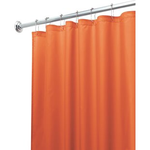 Mildew Free Water Repellent Single Shower Curtain