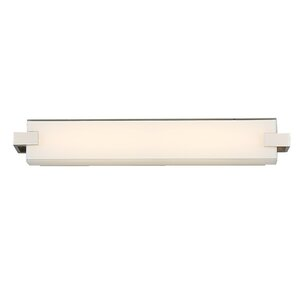 Bliss 1-Light LED Bath Bar