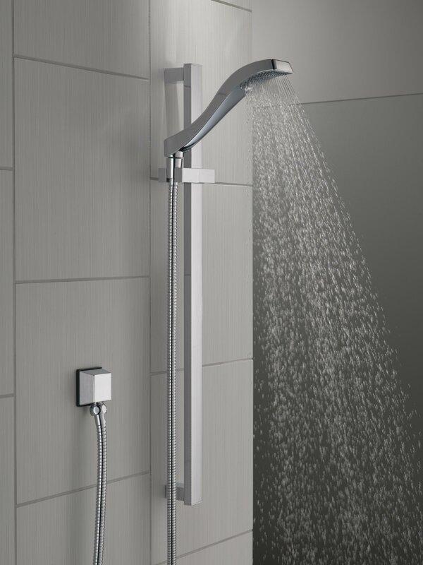 Delta Dryden Full Slide Bar Shower Head Amp Reviews Wayfair