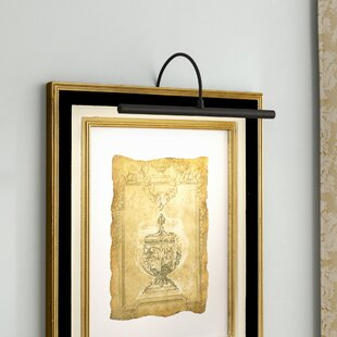 Picture frame light Light Underneath Quickview Wayfair Frame Mounted Picture Lights Youll Love Wayfair