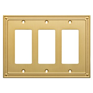 classic triple switch plate - Decorative Switch Plates