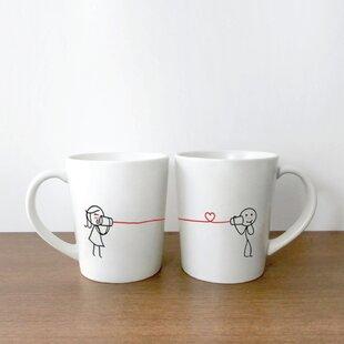 10def7a3814 Say I Love You Too Couple Coffee Mug (Set of 2)