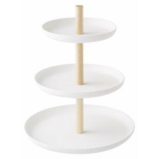Jaime 3-Tiered Cake Stand  sc 1 st  Wayfair & 3 Tier Plate Stand | Wayfair