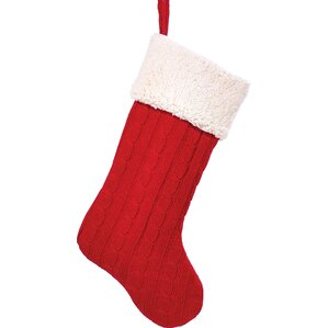 Cable Knit Christmas Stockings | Wayfair
